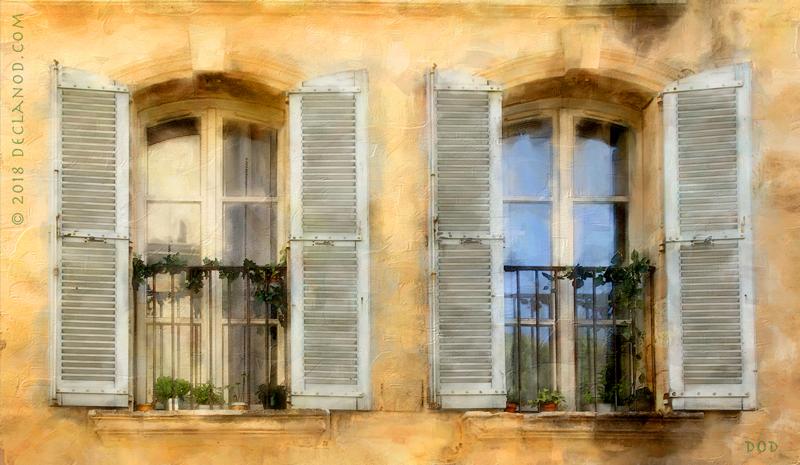 Shuttered Windows - Avignon