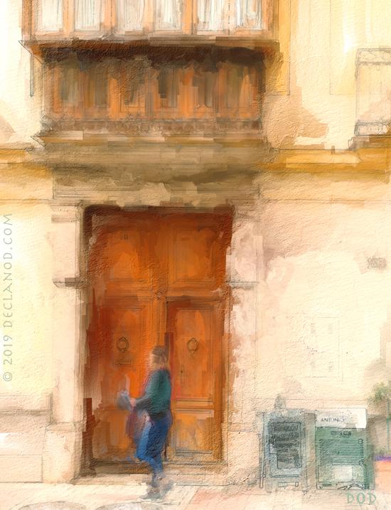 Malaga Doorway