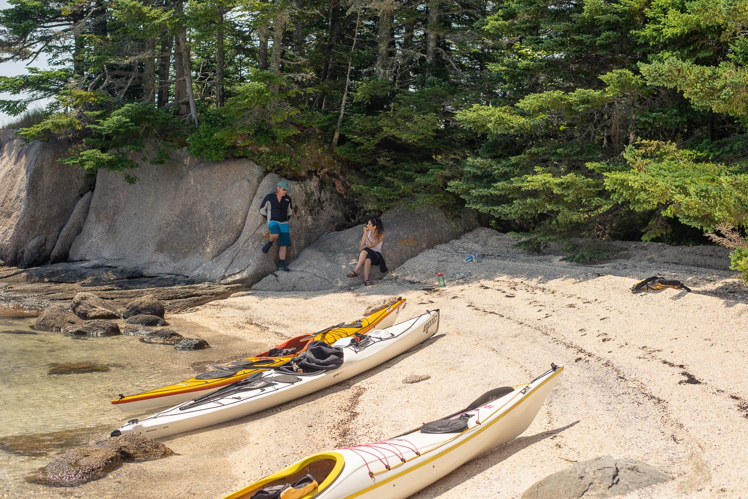 One Day Trips - Enjoy a guided sea kayak tour of the pristine Maine Island Trail. Explore rocky inlets, sheltered coves, and the beautiful New England pine woods reaching down to the water's edge.