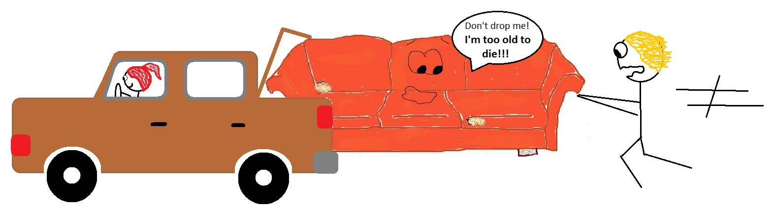TrunkedCouch