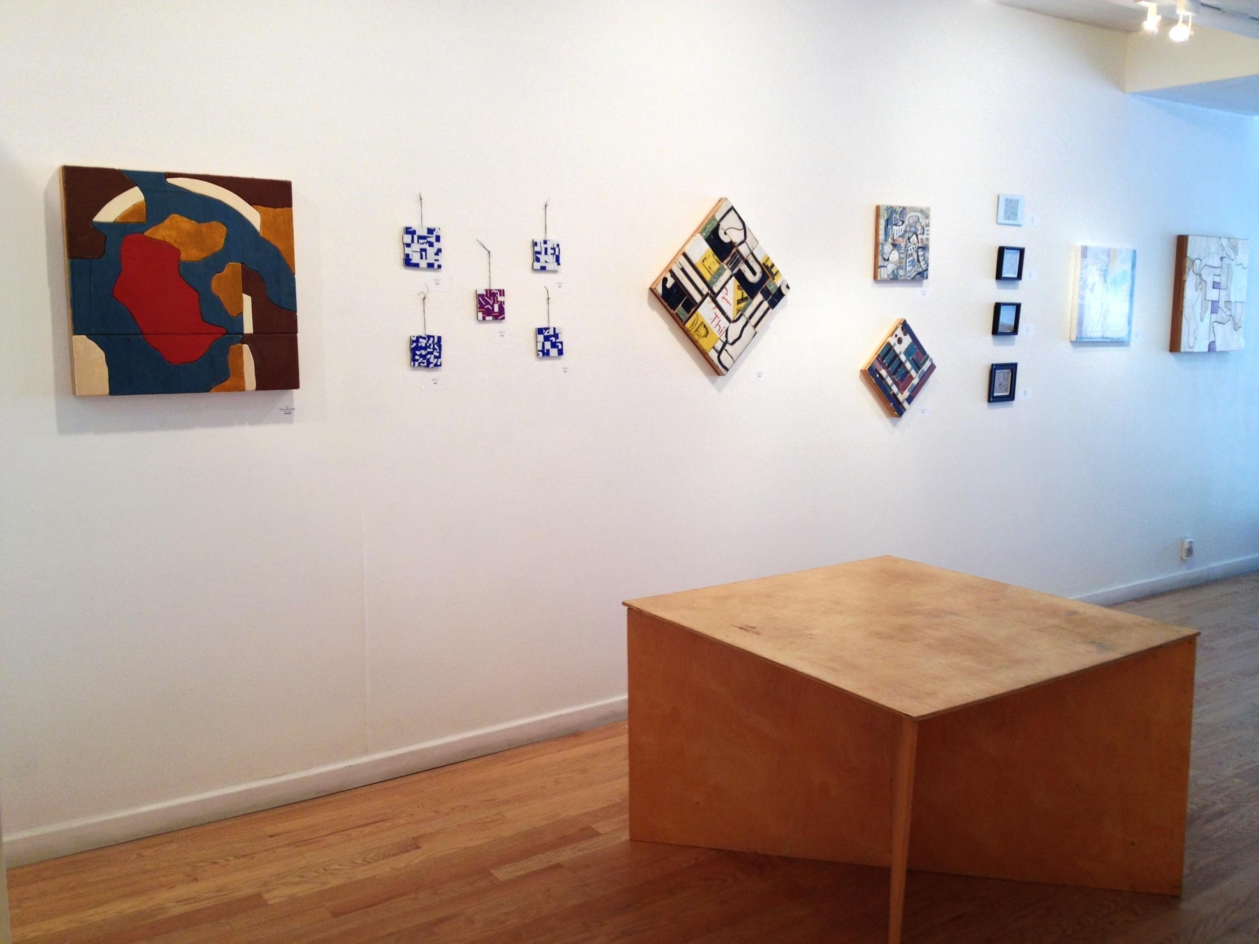 J. Willis Install, 516 Arts, May, 2015