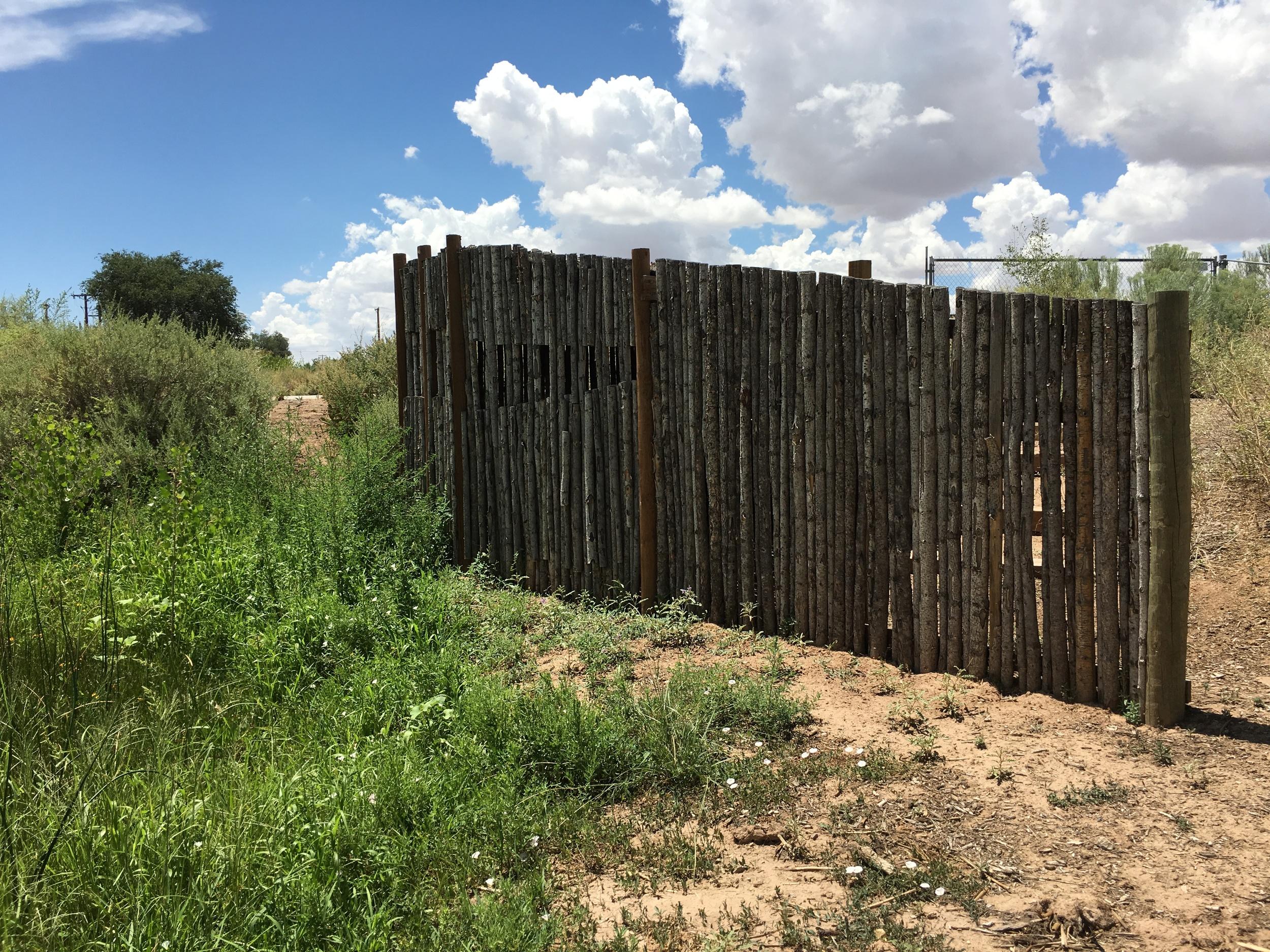 """Willis, Joshua, """"Wildlife Blind,"""" Open Space, City of Albuquerque, NM"""