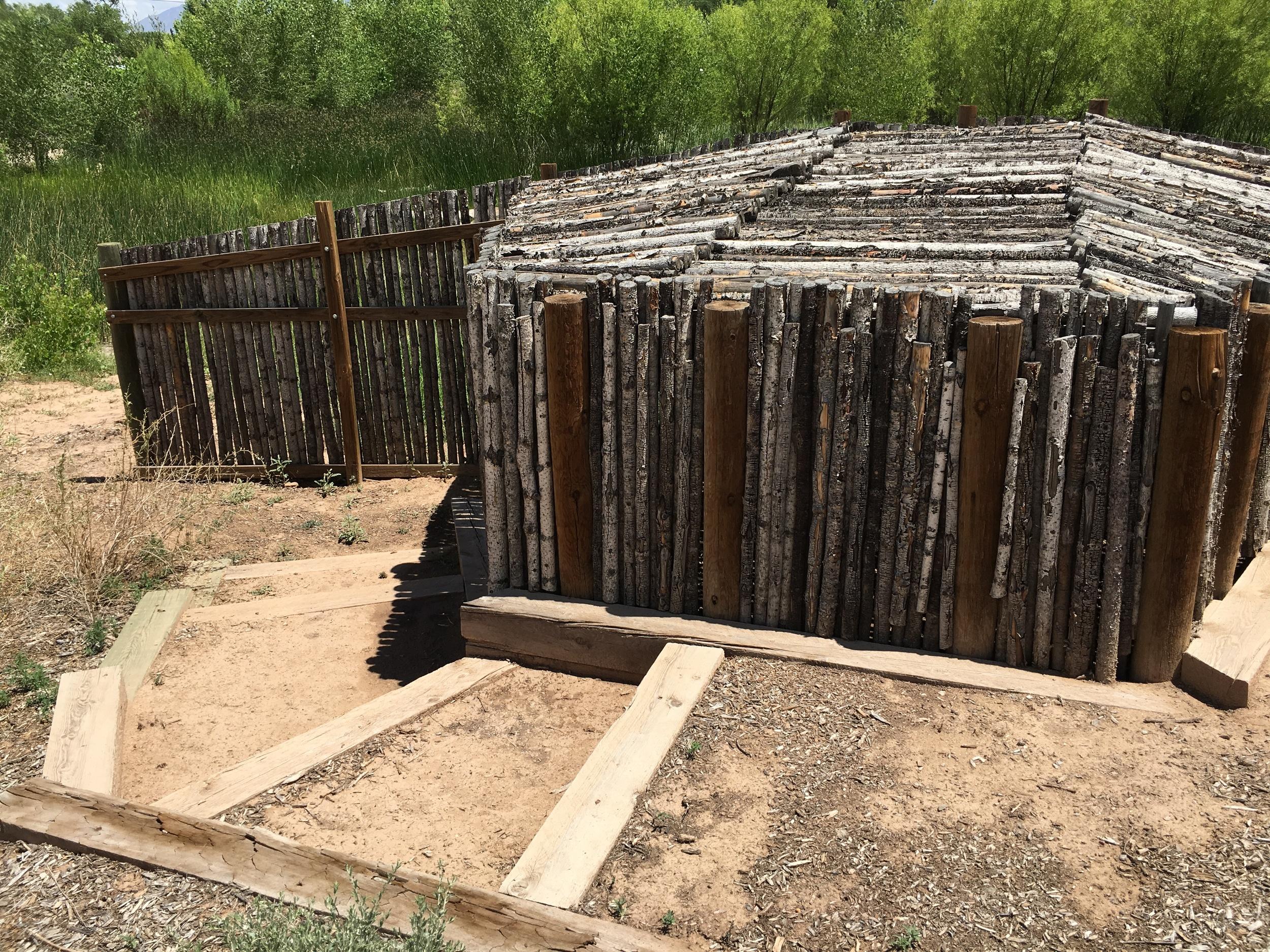 """Willis, Joshua, """"Wildlife Blind,"""" Open Space, City of Albuqueruque, NM"""