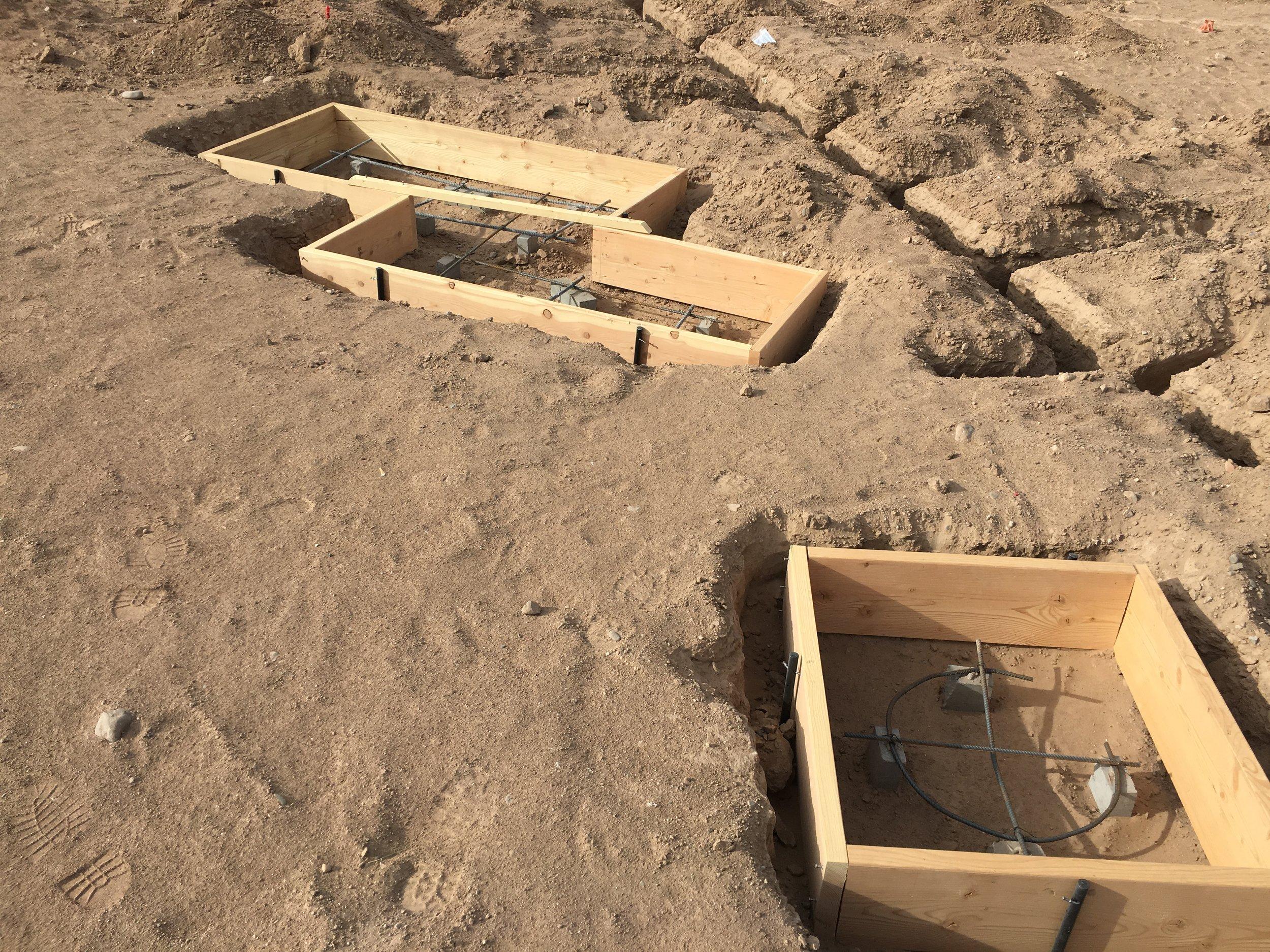 Concrete Forms, 2017, Bernalillo County Facility