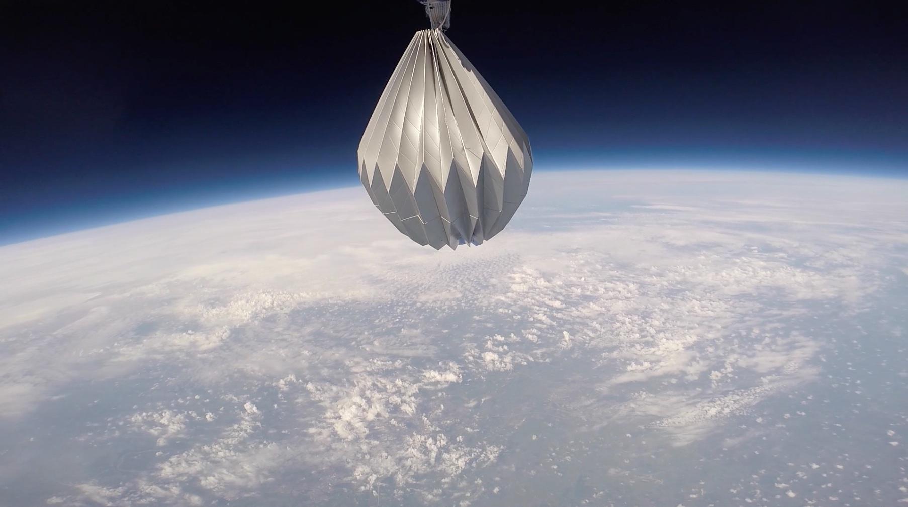 Mesoloft Vehicle Near 100,000 ft