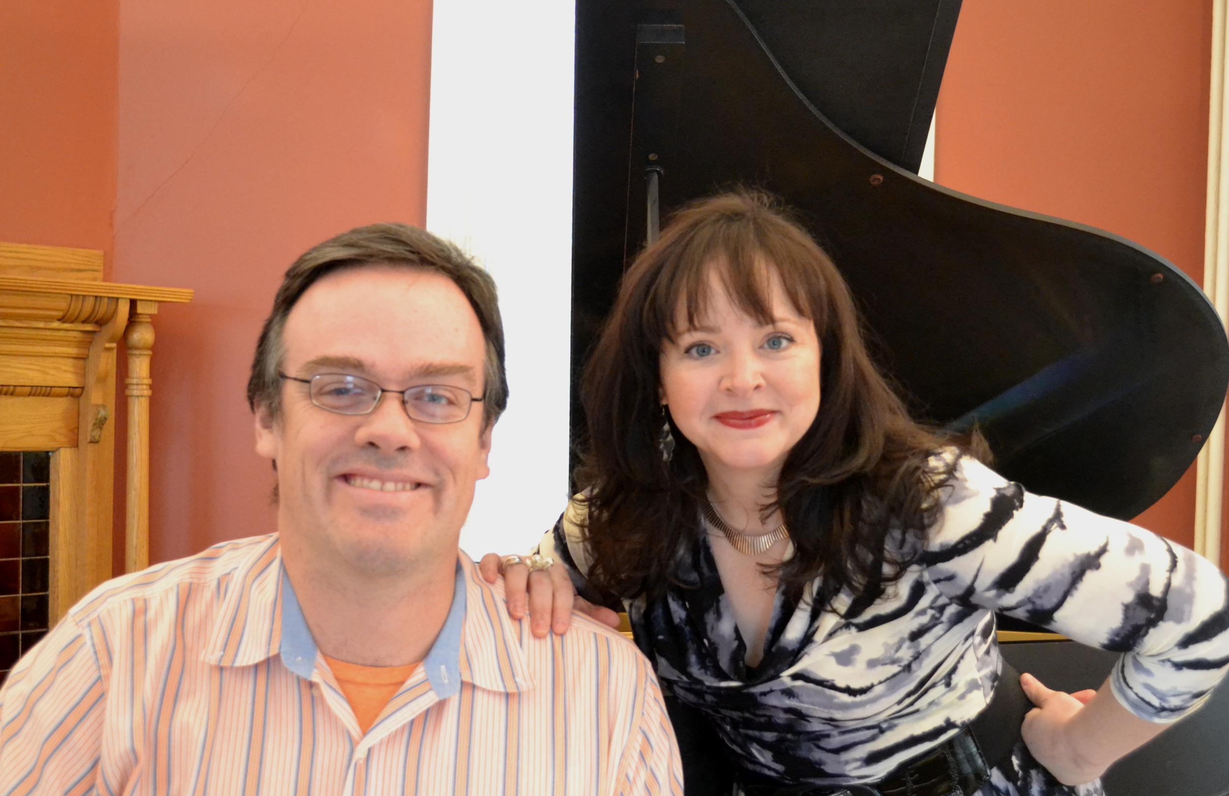 Andrew Funk and Alicia Berneche