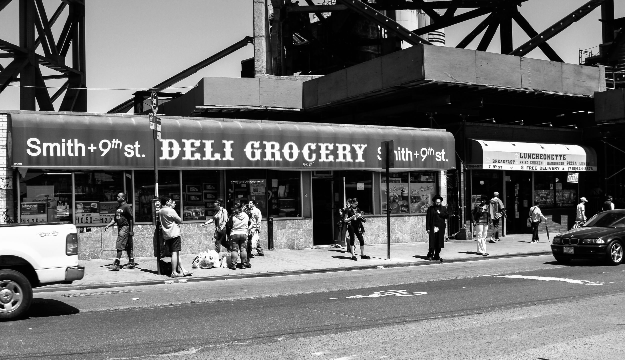 While the Deli is a mainstay of NYC life, the luncheonette is rapidly becoming a piece of history.