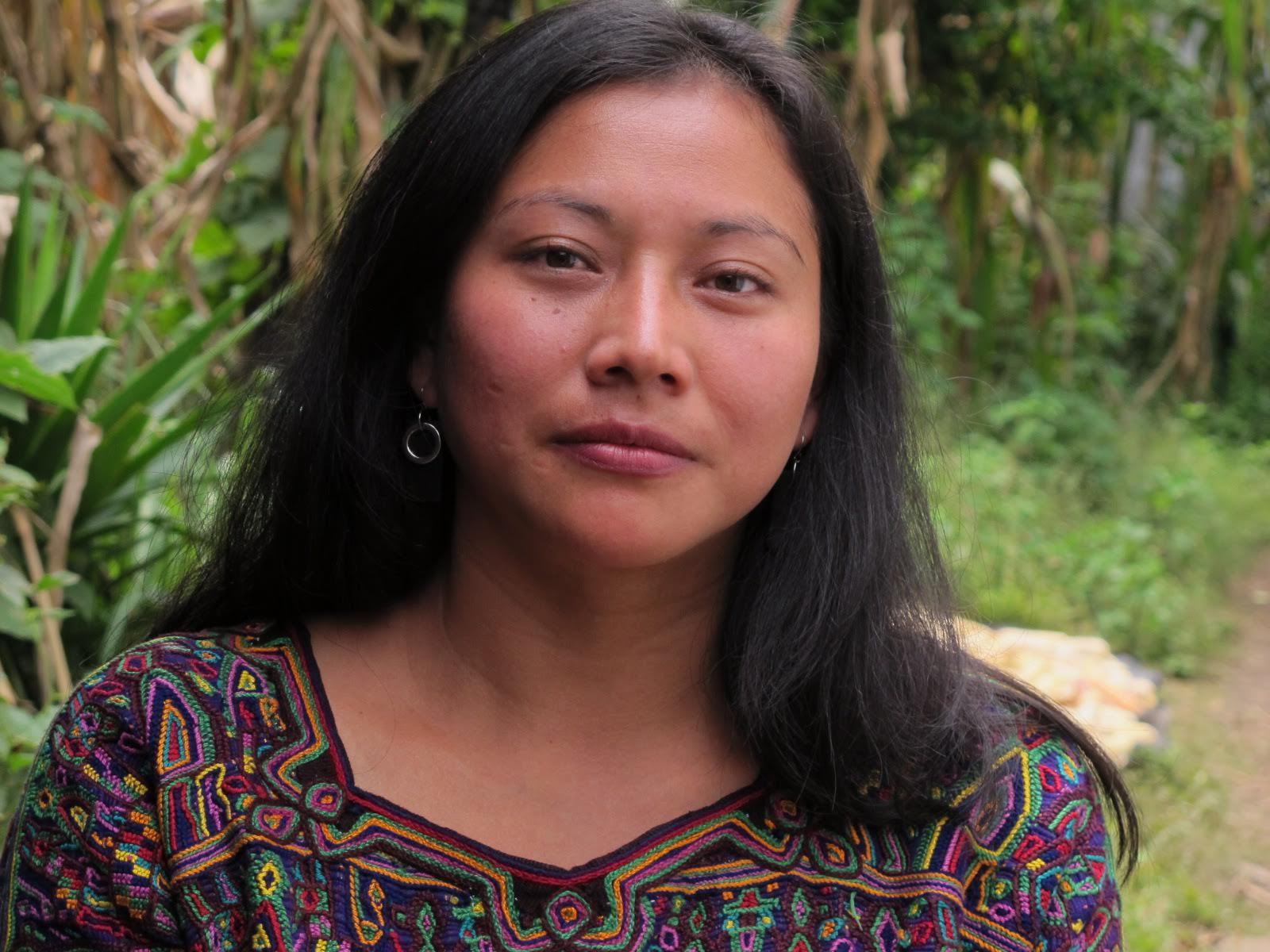 Matilde Terraza, a Mayan Ixil leader and one of the protagonists in  500 YEARS