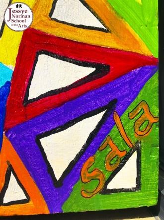"Painted Piano by audrey ""Sala adenike"" jeter-allen"