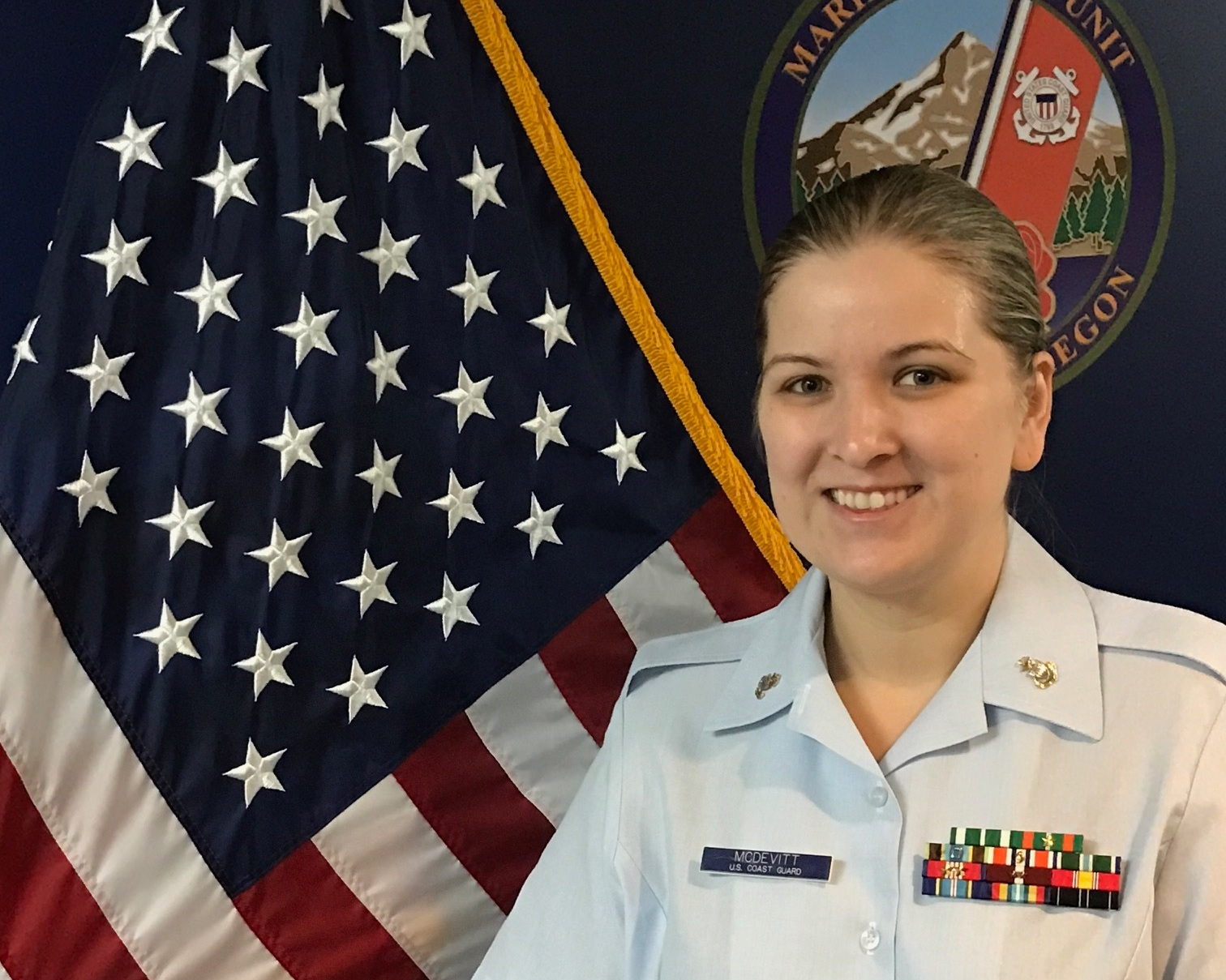 Valerie McDevitt, U.S. Coast Guard
