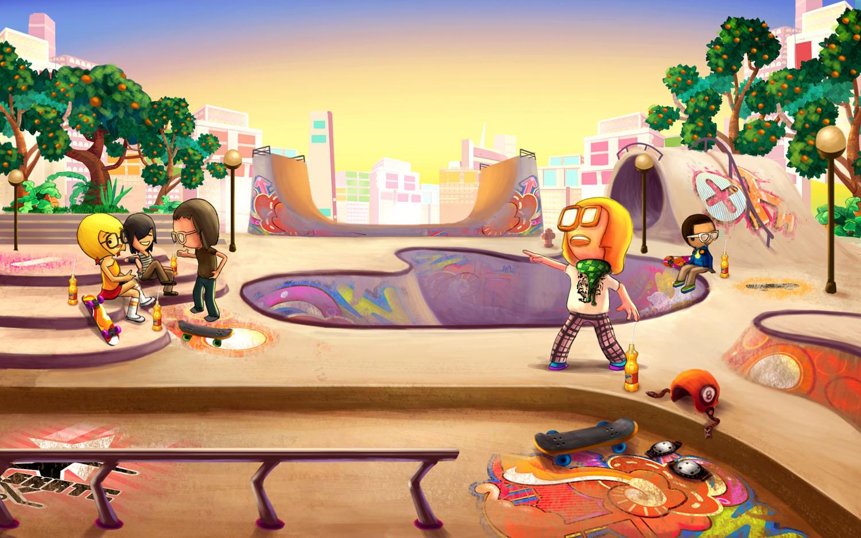 Fanta Skatepark
