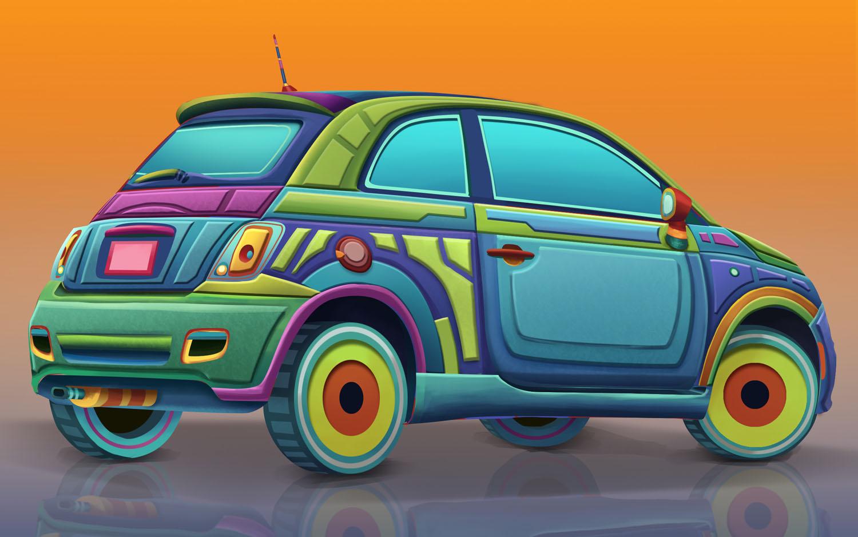 Fiat 500 Advert