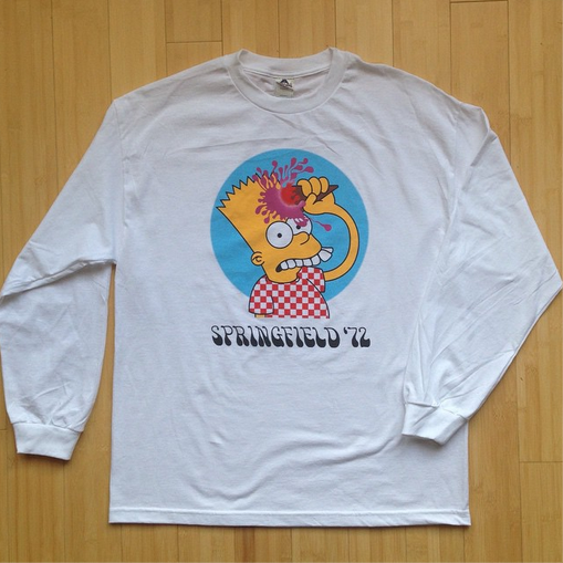 Springfield '72 Long Sleeve shirt now available at  MVH Philadelphia.