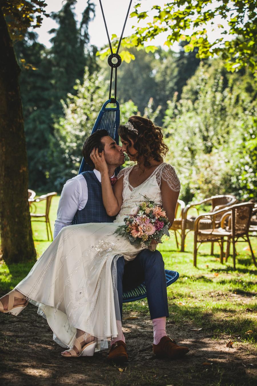 Loveshoot bruidspaar