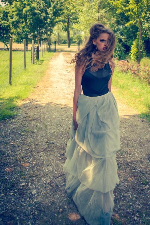 Fashion shoot voor online magazine