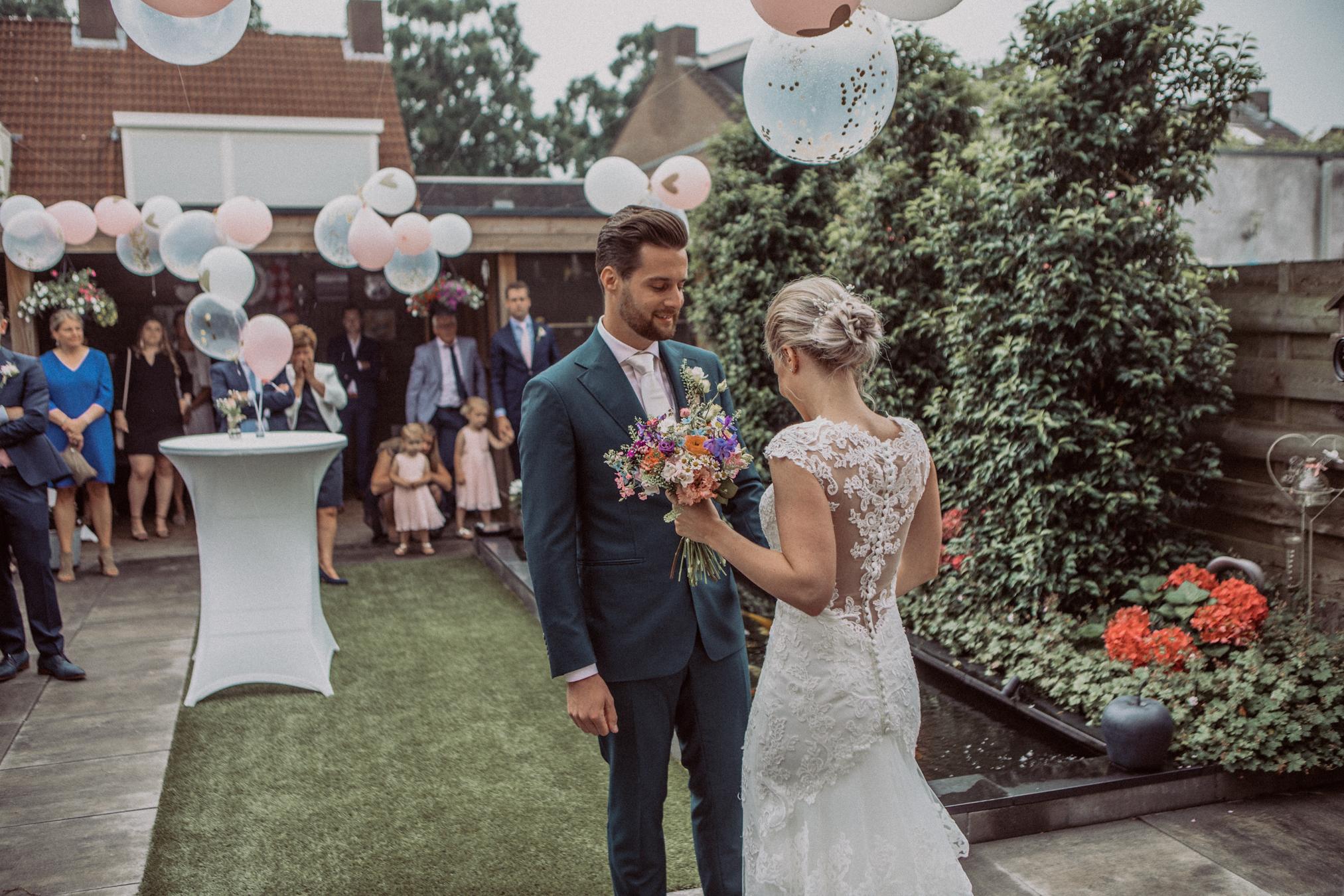 bruid en bruidegom udenhout