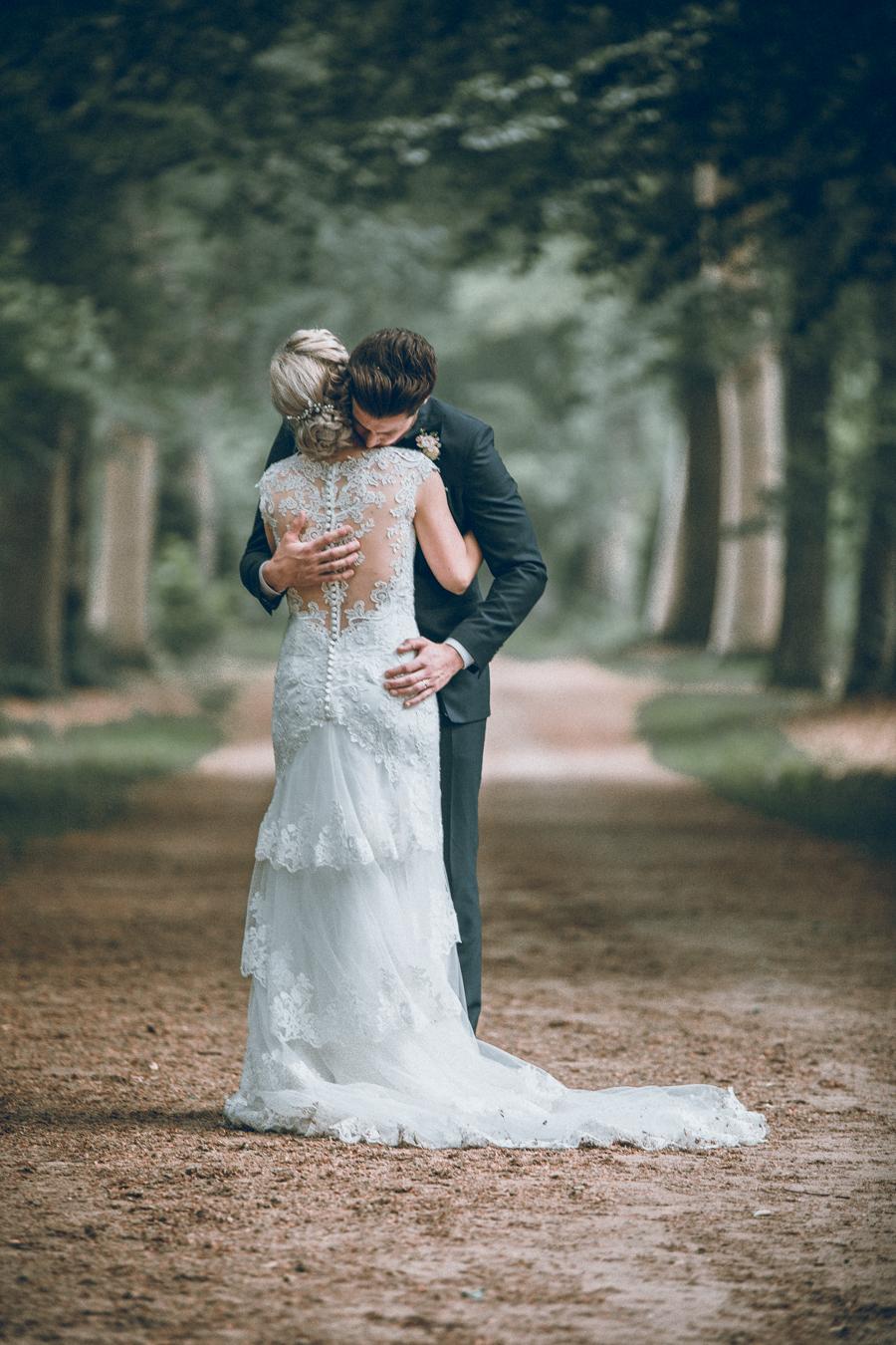 bruidspaar auberge du bonheur