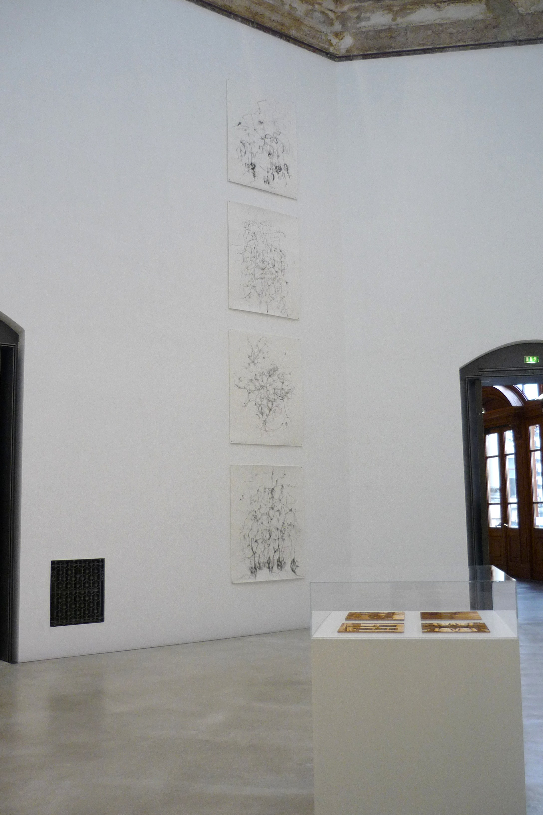 Exhibition of Chance Drawings Dresden Germany (2013)