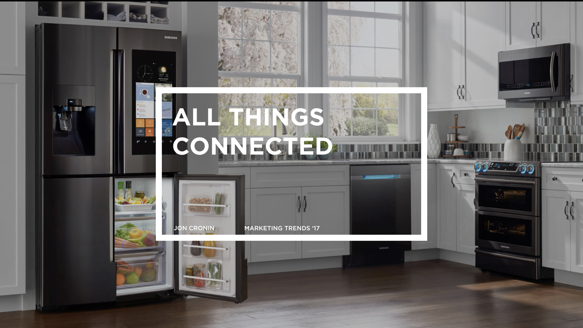 "Internet of Things:  50 billion ""Things"" will be on the Internet  by 2020 . If you have walked into a Best Buy lately you will see that the first section is all IoT related. Connected devices, Wearables, Amazon Echo and Dash buttons, Google Home, Apple Watches, Fitbits, lightbulbs, speakers, locks, security camera's, refrigerators, toasters, toothbrushes… You name it and its going to be connected to the Internet of Things. If you make anything moving forward it must connect to the IoT or be left behind."