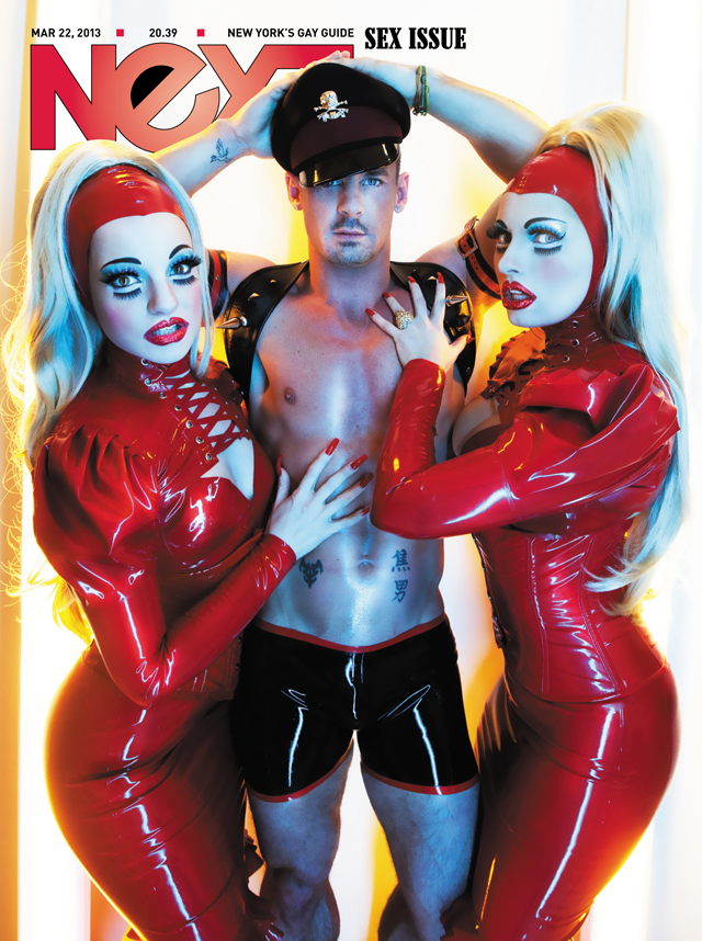 COVER GIRLS! We're squealing with excitement to be featured on the cover of Next Magazine's Sex Issue with Nik Ripley, shot by Santiago Felipe.