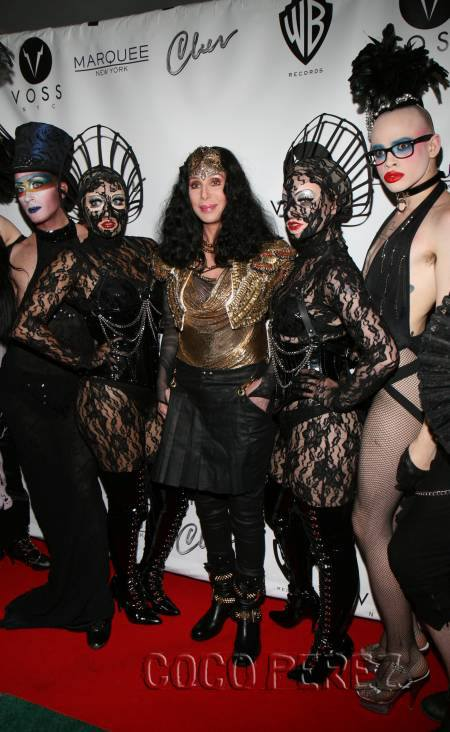 Cher hits on us! Daughters of Devotion got the experience of a lifetime, performing for Cher at Marquee Pride, where after she tweeted a photo with us, and is it just us or is CHER TOTES HITTING ON US!?!?