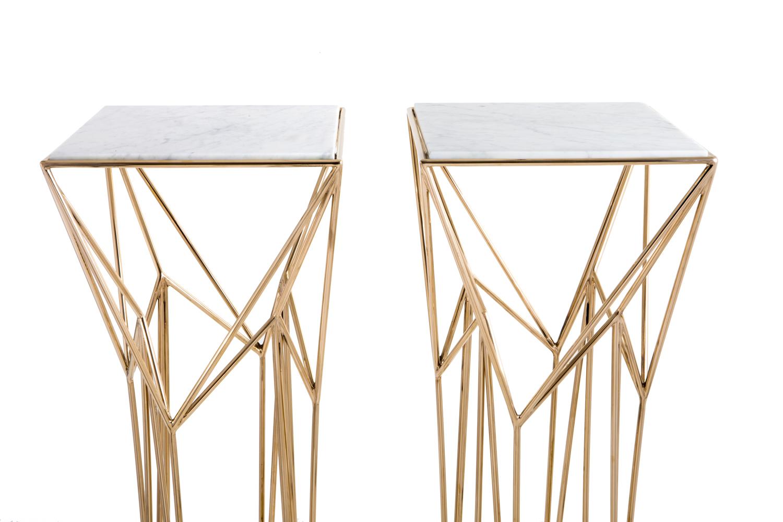 archimedes pedestal table