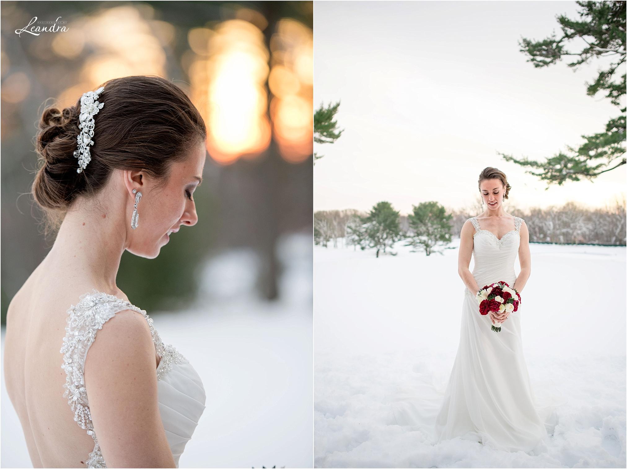 Stonebridge Country Club Wedding, Bride in Snow_0032.jpg