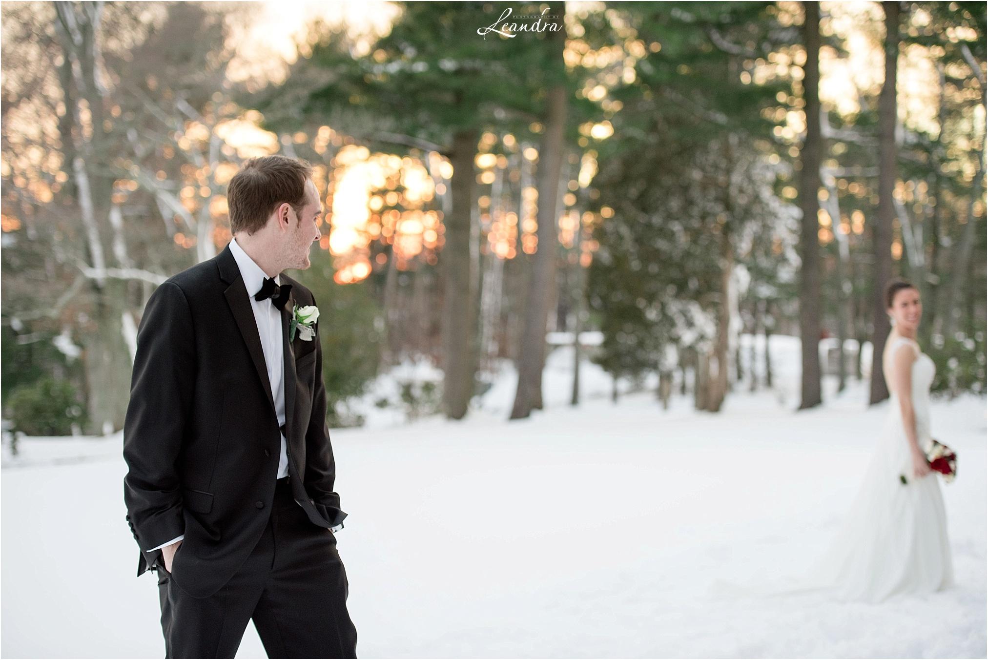 Stonebridge Country Club Wedding Bride and Groom in Snow_0033.jpg