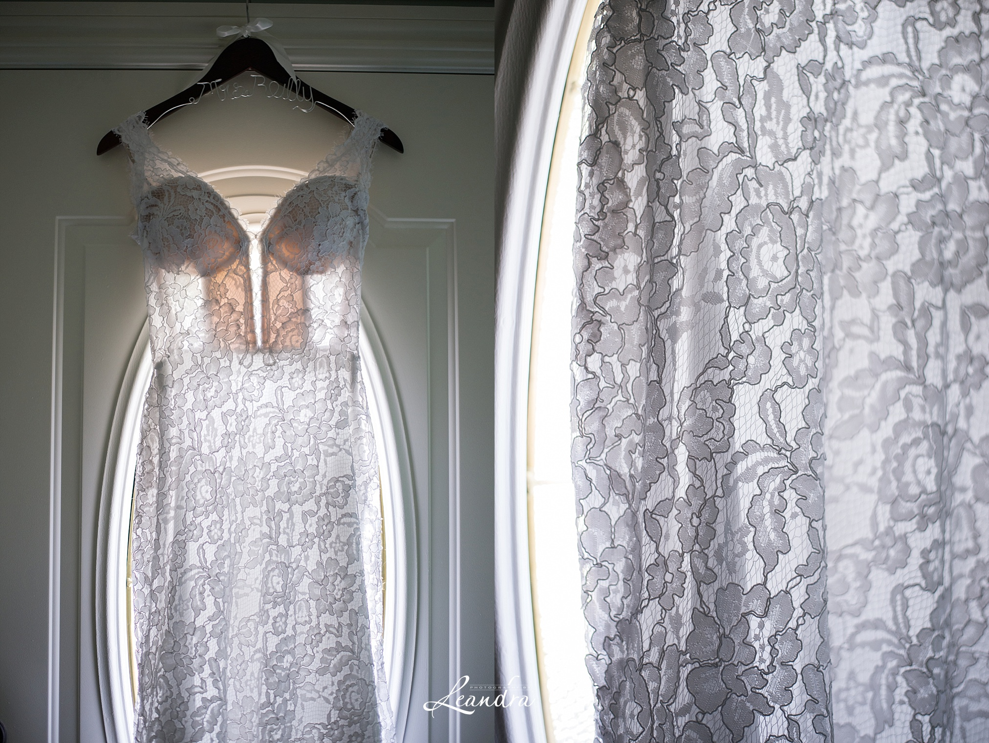 Pnina tornai Lace Wedding Gown details