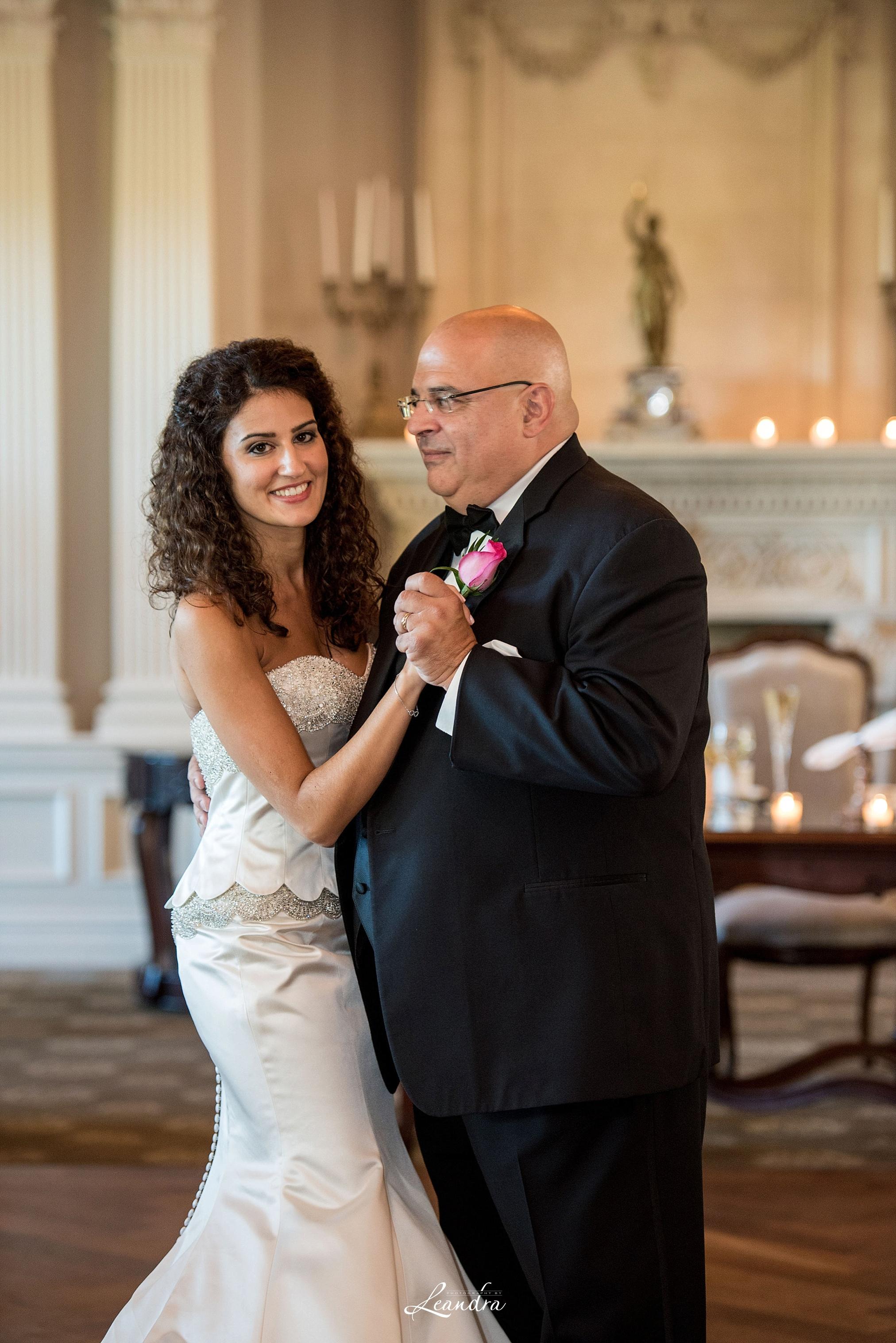 The Park Savoy Estate Wedding Father Daughter Dance | New Jersey Wedding Photographer