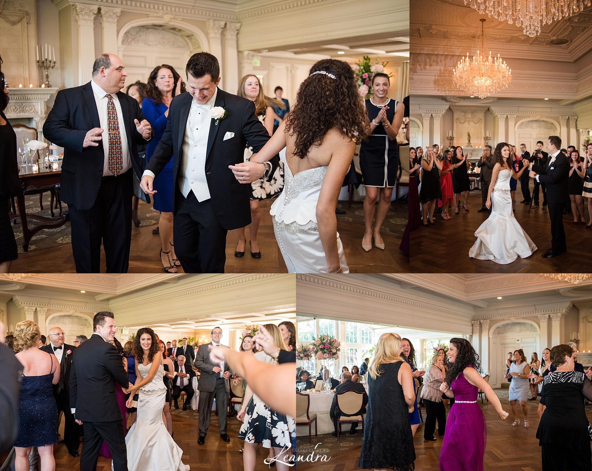 The Park Savoy Estate Wedding Reception dancing | New Jersey Wedding Photographer