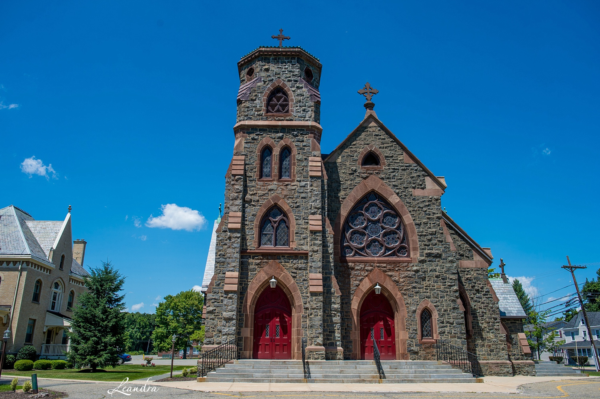 Catholic Church in New Jersey   New Jersey Wedding Photographer