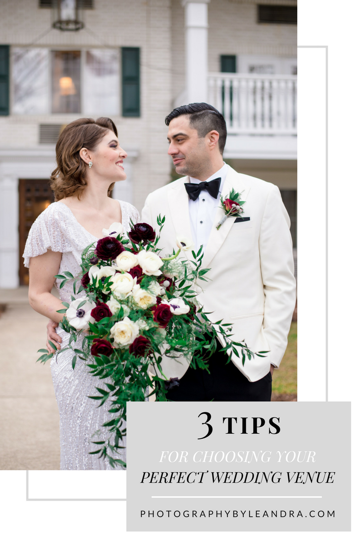 3 Tips for Choosing your perfect wedding venue