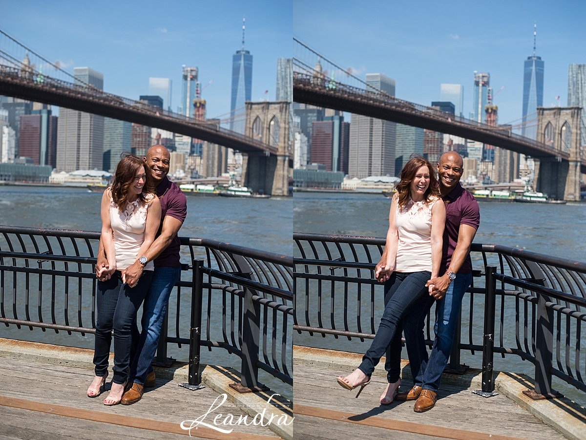 Brooklyn Bridge Park Engagement photos.Photography by Leandra_0060.jpg