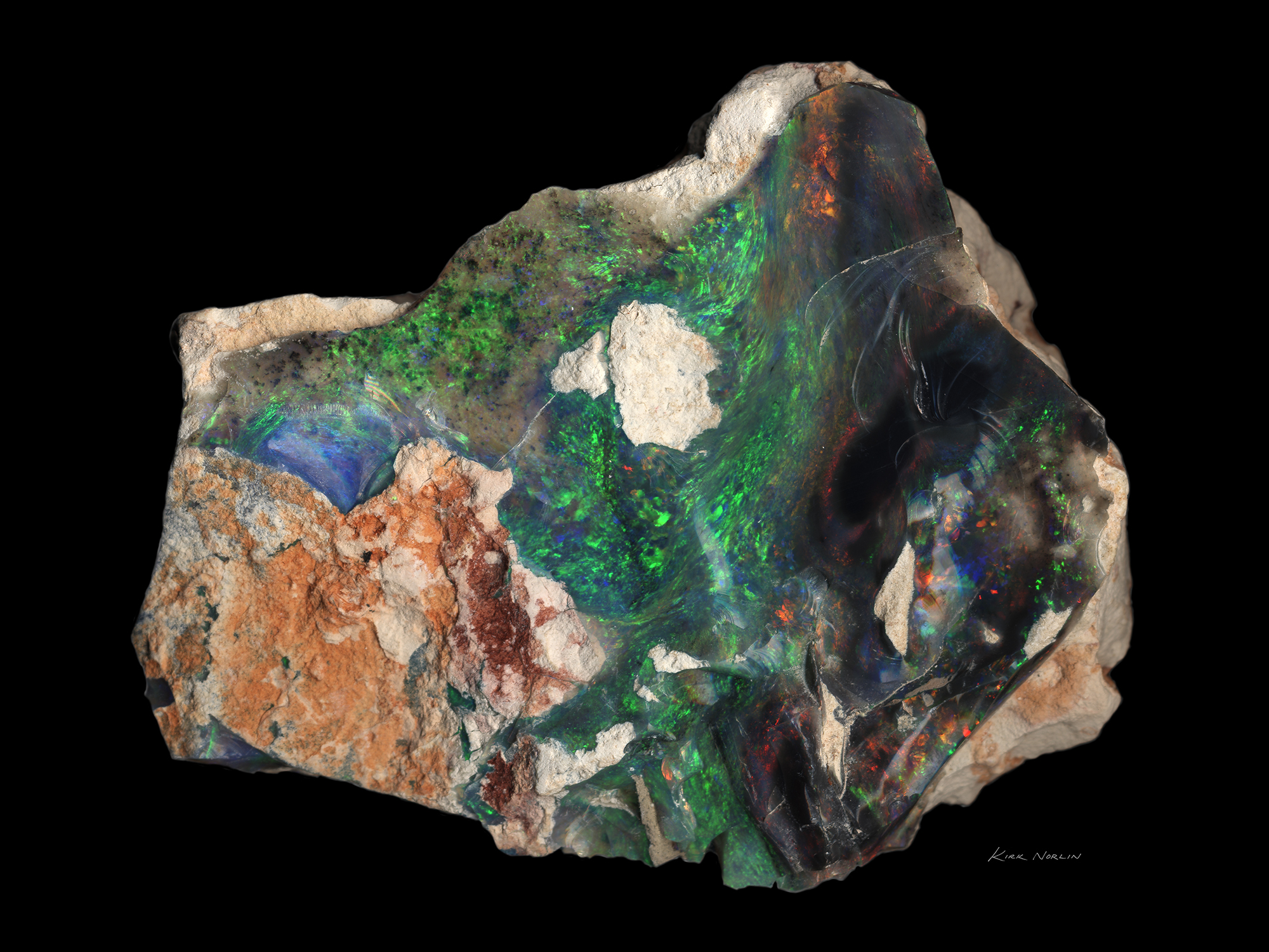 Lightning Ridge Seam Opal