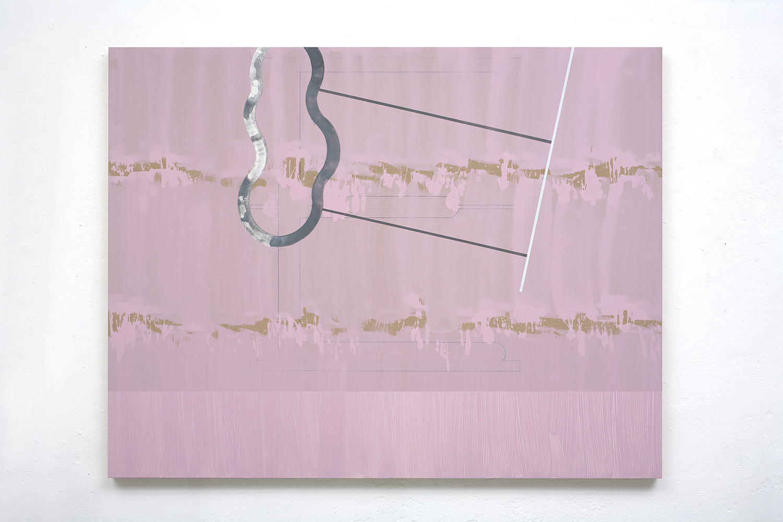 Sea Bait 3,  2010, 120 x 154 cm, acrylic, graphite on mdf