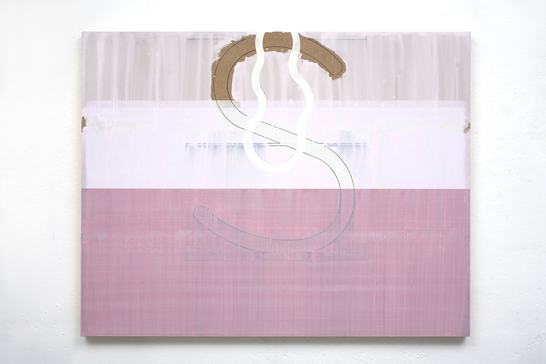 Sea Bait 5,  2010, 120 x 154 cm, acrylic, graphite on mdf