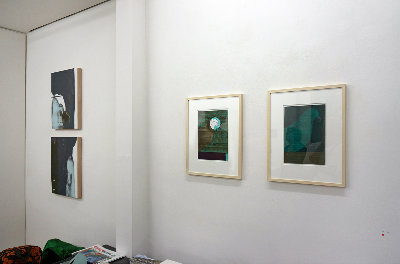 Installation view in Luycks Gallery