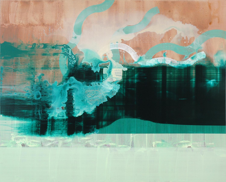 Medusa, 2014, 97 x 120 cm, acrylic on mdf
