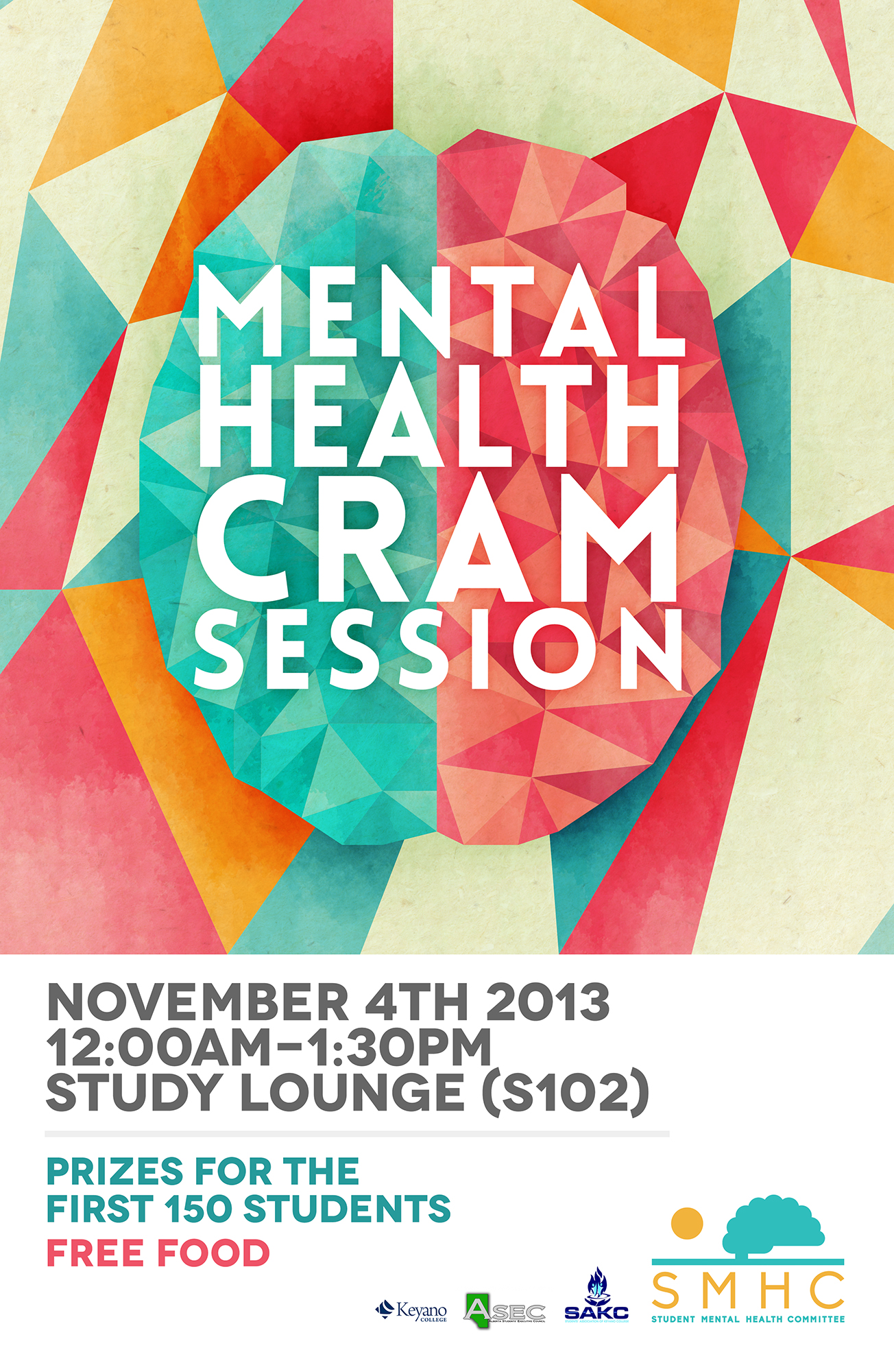 Cram Session Event Poster - Keyano College of Alberta Canada