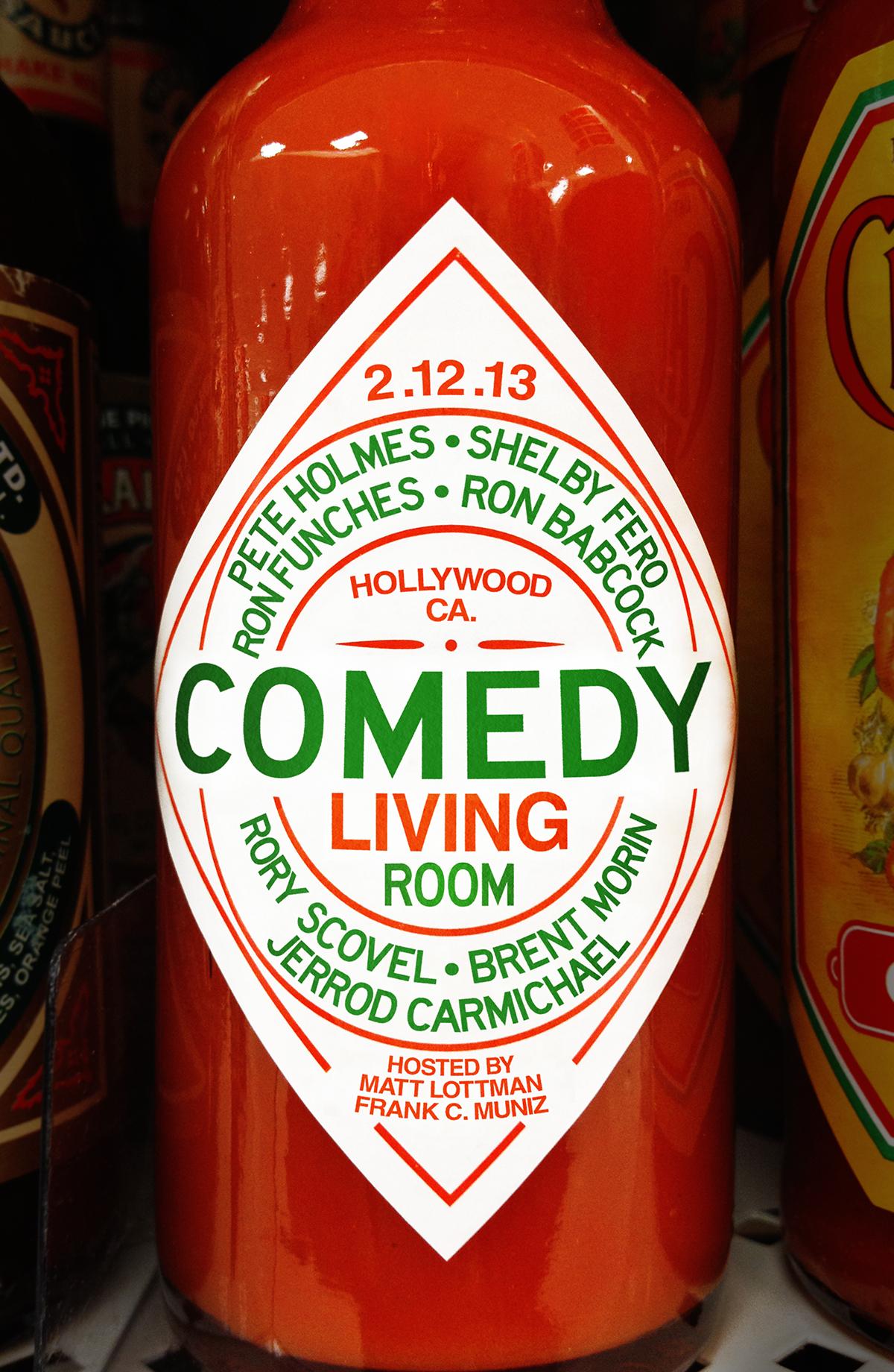 Comedy Living Room - February 2013