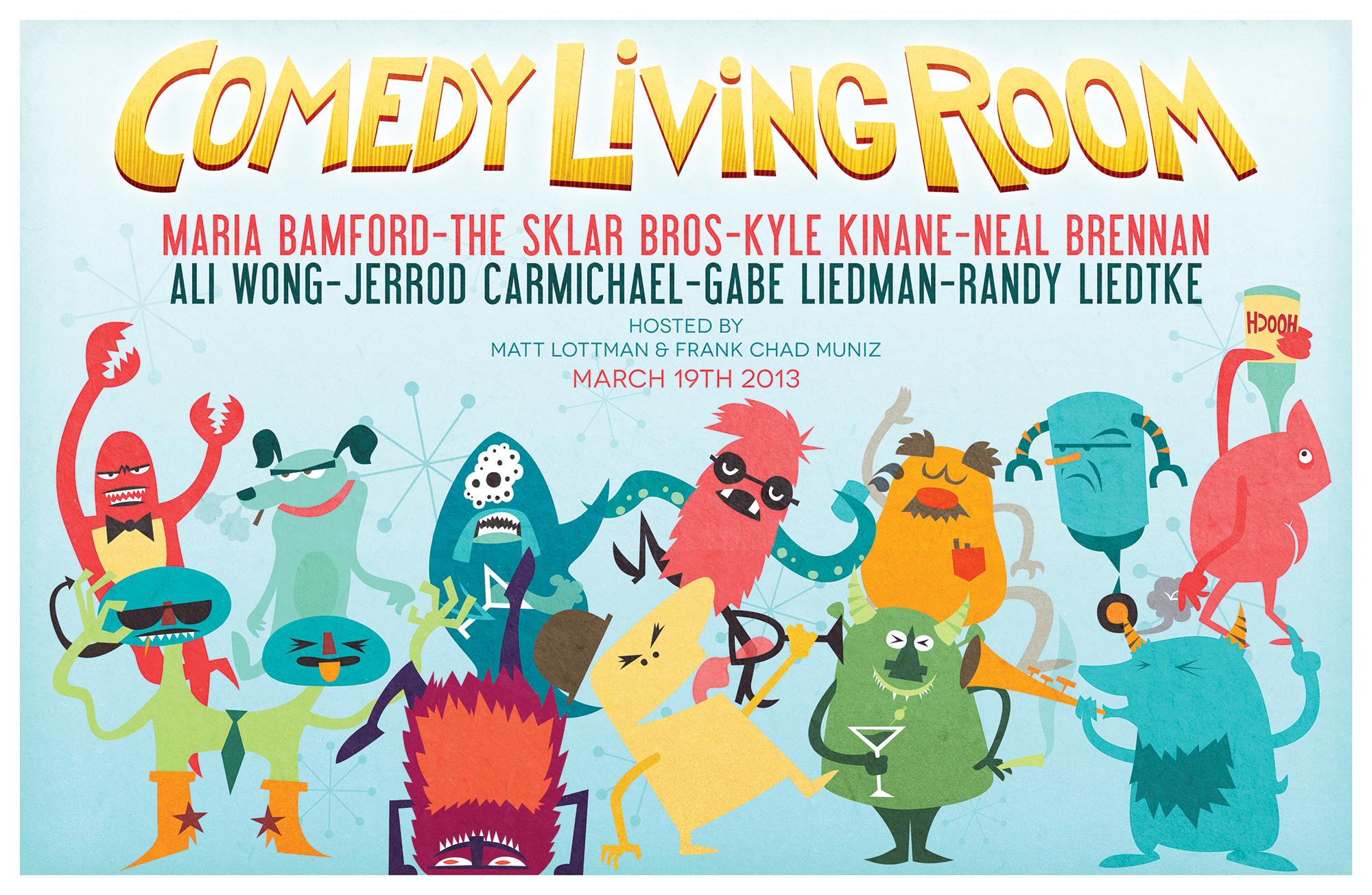 Comedy Living Room - March 2013