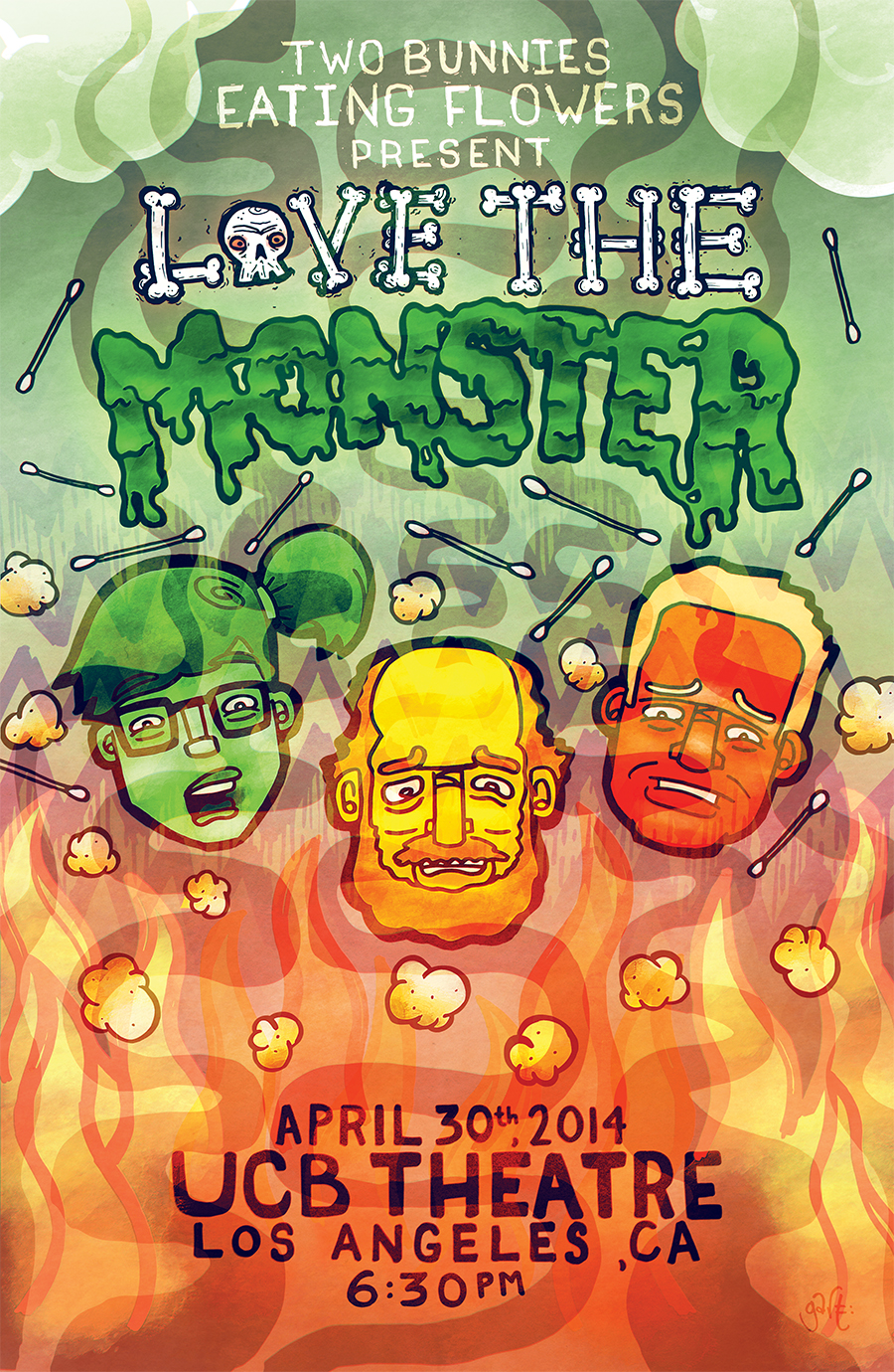 'Love The Monster' - Live at UCB in Los Angeles