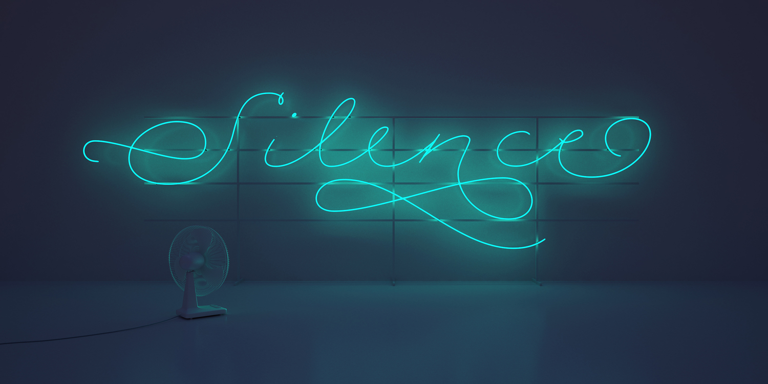 Year: 2013  Visual Poetry and Neons showcasing a new typeface.