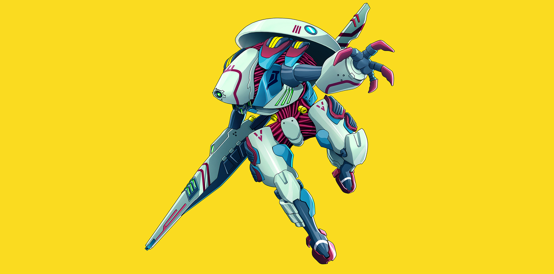 Year: 2014  Anime Mechas design for Xbox.