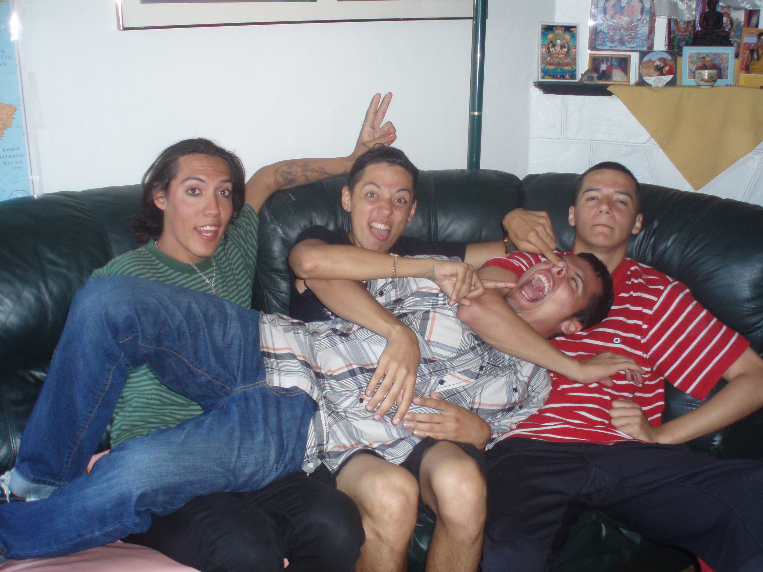 With my brothers Cesar, Manuel & Jesus