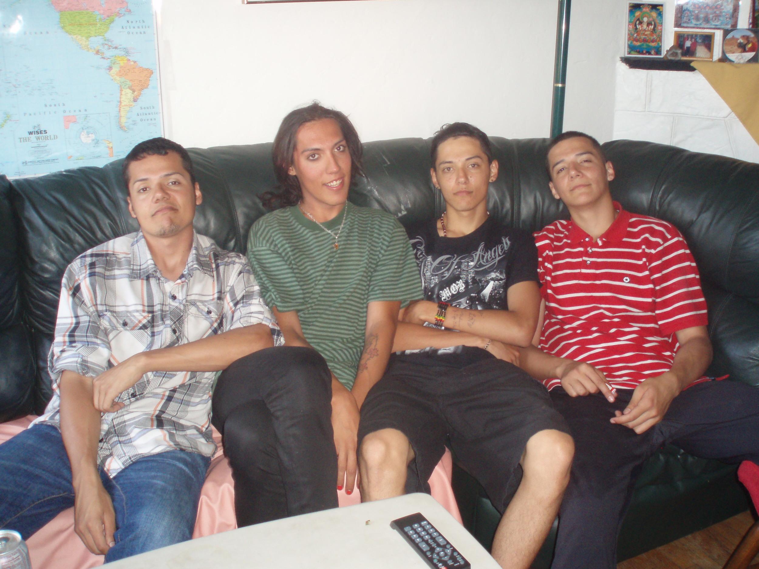 (L -R) Miguel, Cesar, Jesus & Manuel