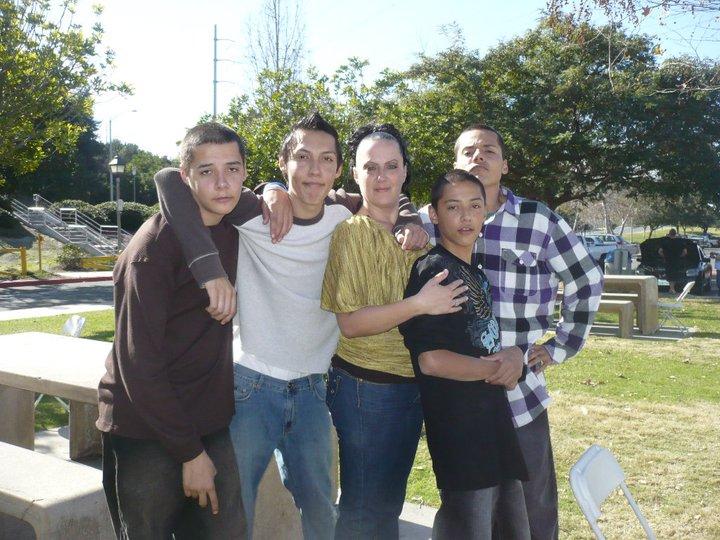 Manuel, Cesar Mom, Jesus & I