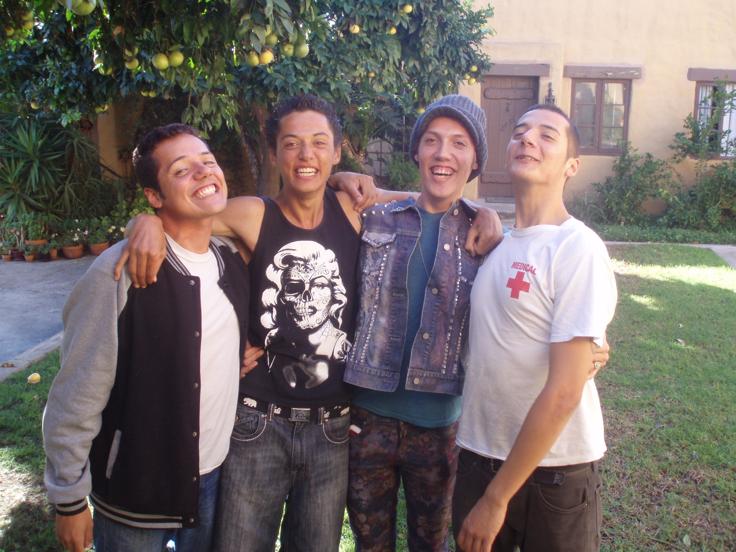 With my brothers recently (L-R) Jesus, Cesar & Mannie