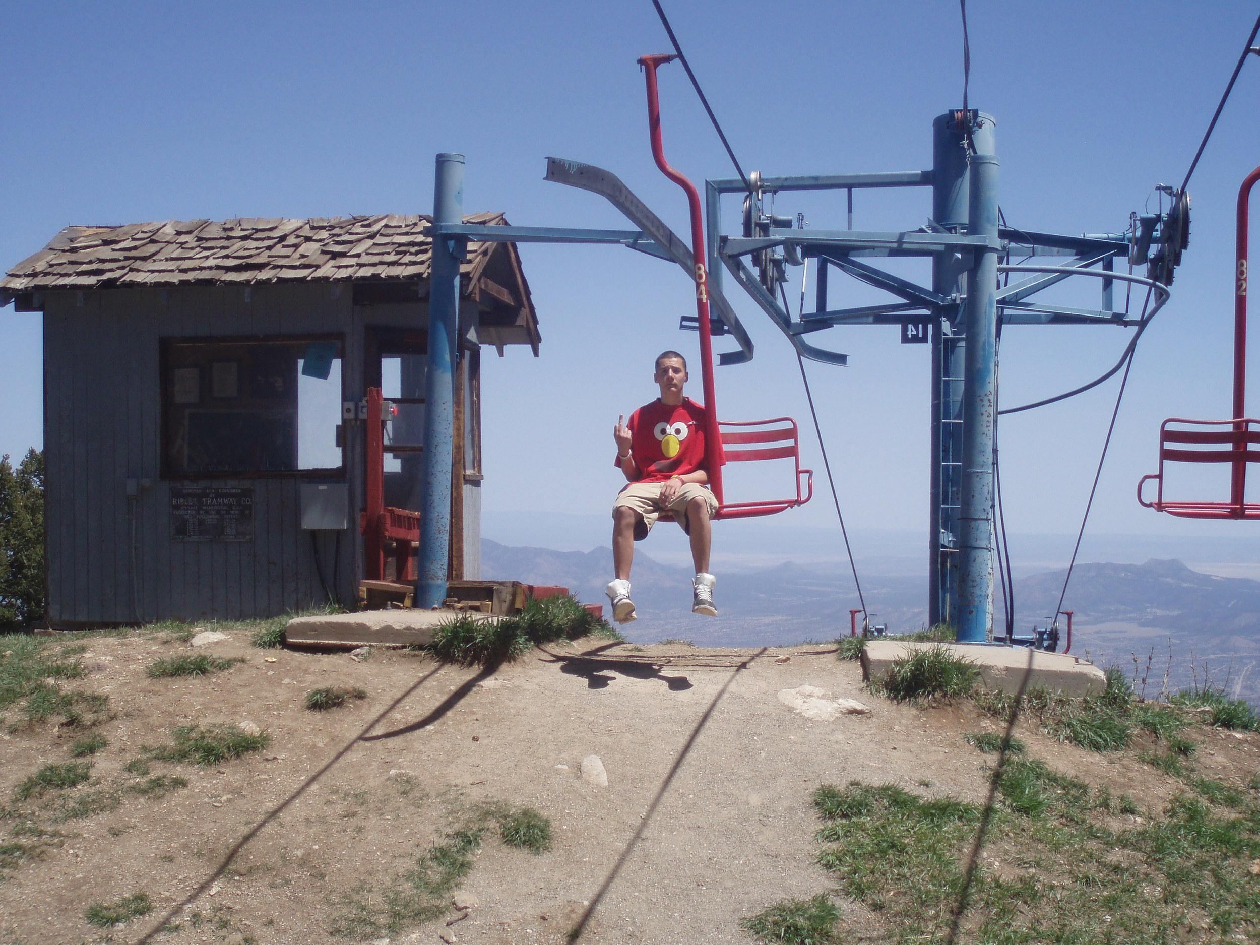 Skandia Ski area above Albuquerque. NM